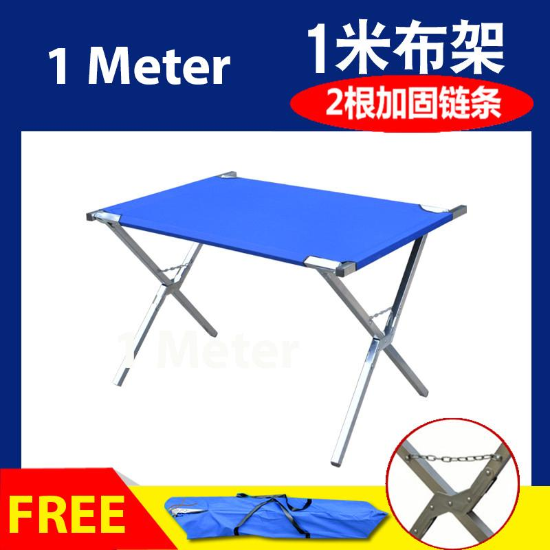 Flea Market Versatile Portable Folding Foldable Table - 1 Meter