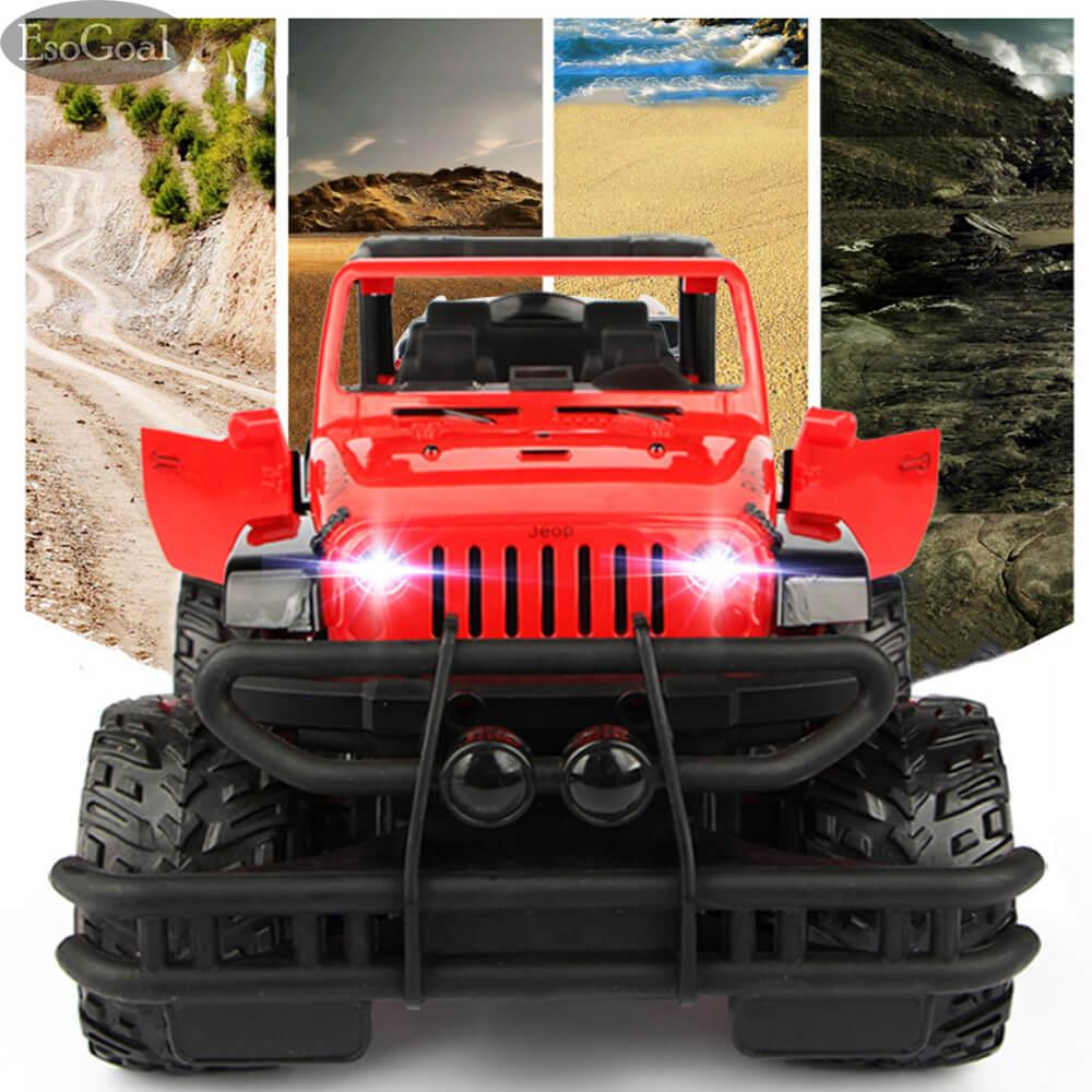 EsoGoal Electric RC Car Rock Crawler Remote Control Toy Cars Drive Off-Road Toys For Boys Kids