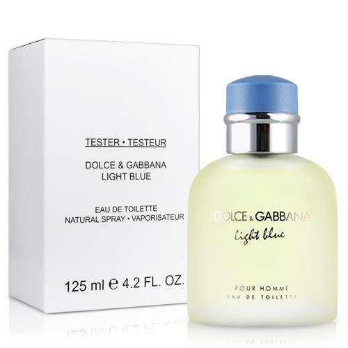 Singapore. Dolce   Gabbana Light Blue Pour Homme EDT 125ml Men s TESTER f5e21deb6697