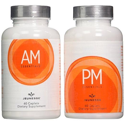 Best Jeunesse Am Pm Essentials 60 Caplets Per Bottle Dietary Supplement
