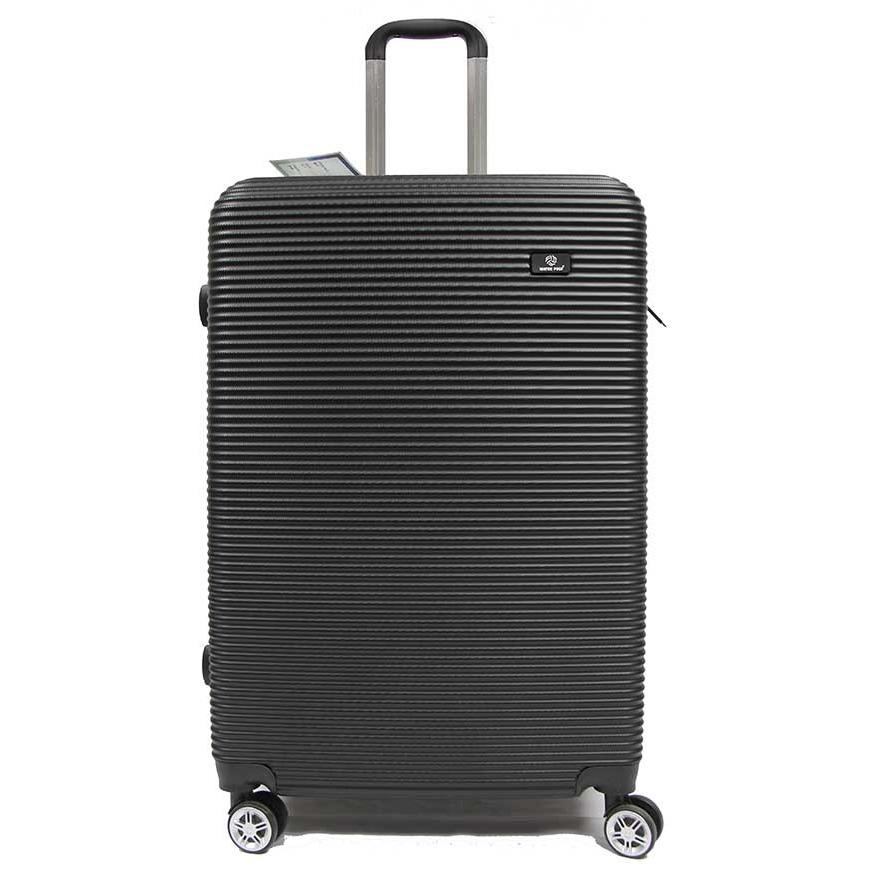 28 Inch Large Abs Expandable Luggage With 8 Spinner Wheels And Number Lock Compare Prices