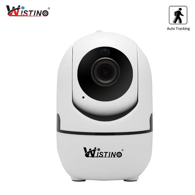 Compare Wistino Cctv Wireless Ip Camera Auto Track 720P Surveillance Security Home Camera Indoor Video Baby Monitor Wifi Ir Night Vision