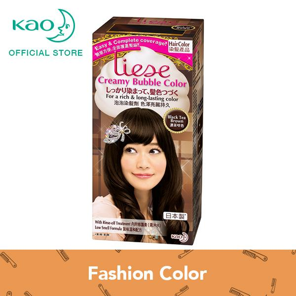 Retail Price Liese Creamy Bubble Color Black Tea Brown