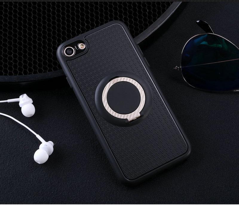 Case untuk Apple iPhone 6 Plus/6 S Mobil Magnetik Braket Isap Jari Cincin Lembut TPU Penutup Belakang untuk Apple iPhone 6 Plus/6 S Plus Global Versi