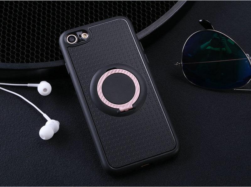 Case untuk Apple iPhone 7 Mobil Magnetik Braket Isap Jari Cincin Lembut TPU Penutup Belakang untuk Apple iPhone 7 Plus Global versi