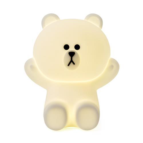 Hug Me LED Touch Lamp - Brown