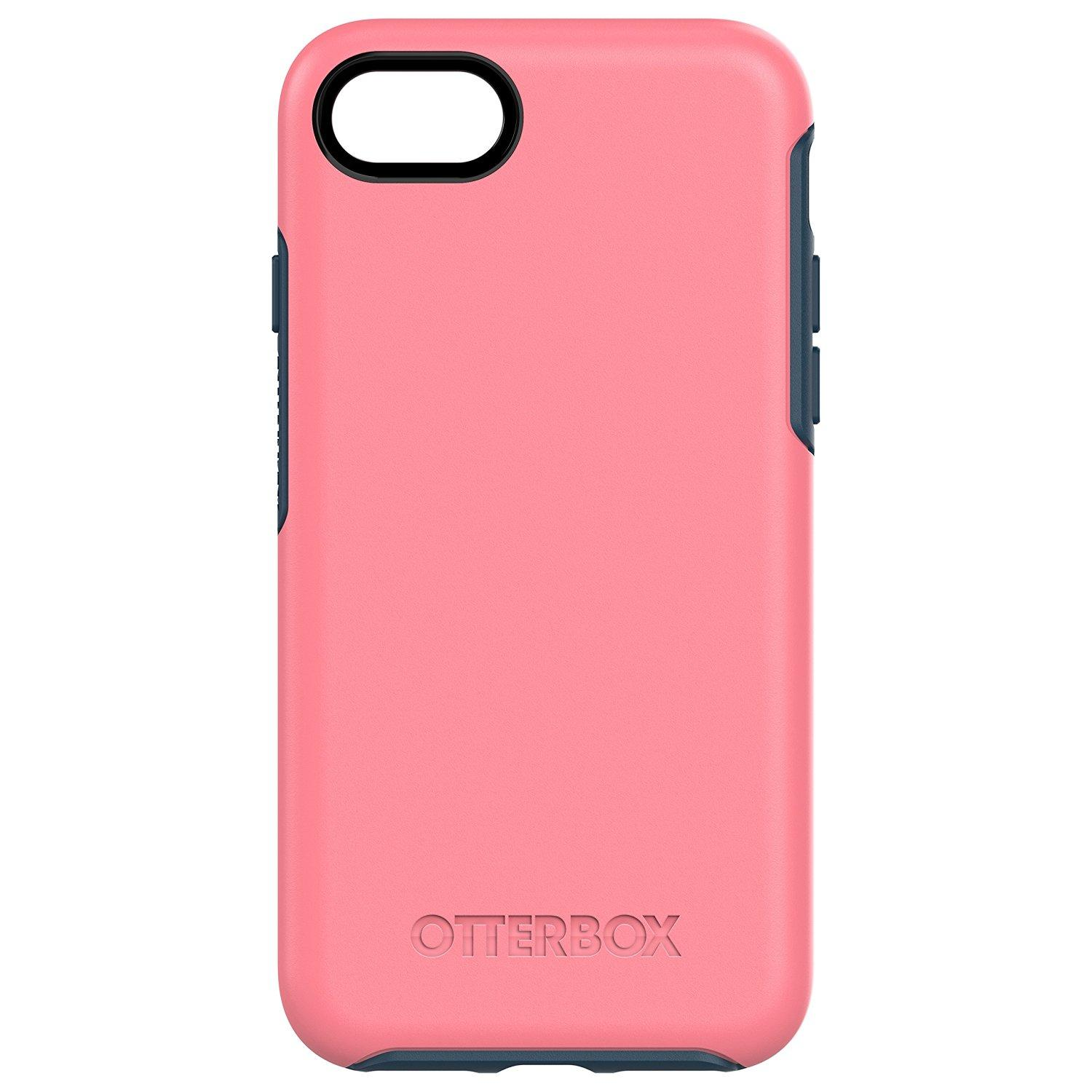 Get Cheap Otterbox Symmetry Sleek Drop Protection Case For Iphone 7 Iphone 8 Pink Blue