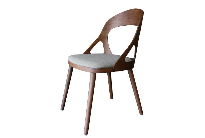 Walnut Solid Wood Dining Chair TMH2093T