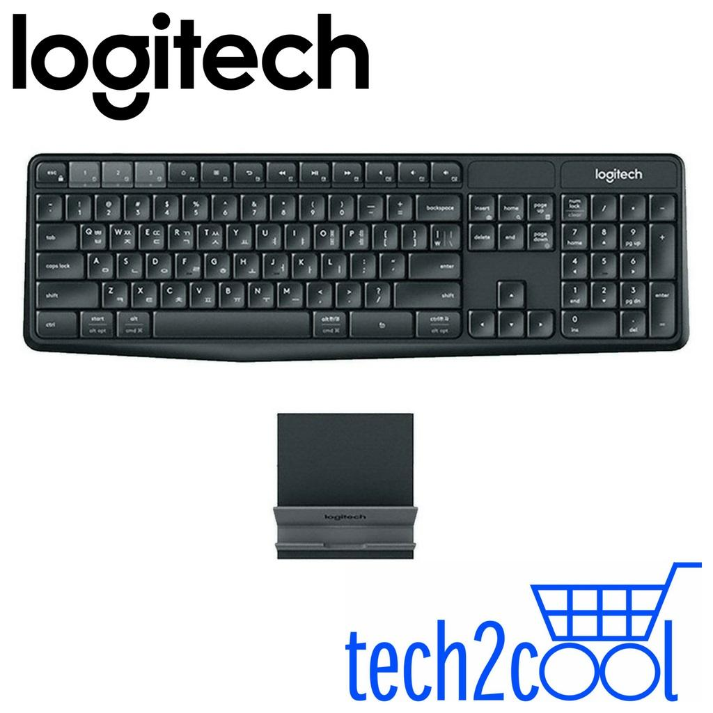 Logitech K375s Multi-Device Wireless Keyboard and Stand Combo