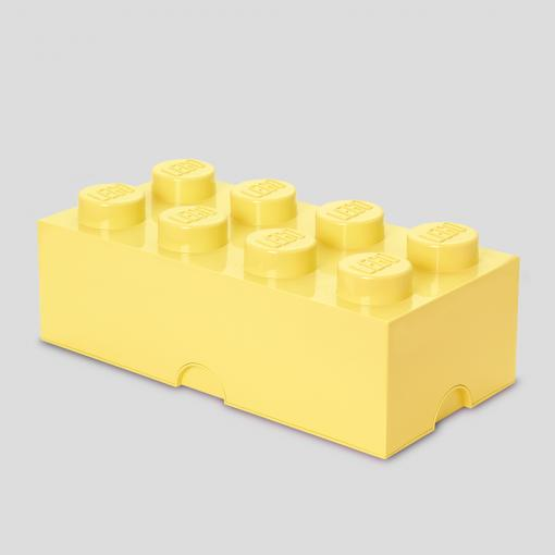 LEGO Storage Brick 8 (Cool Yellow)