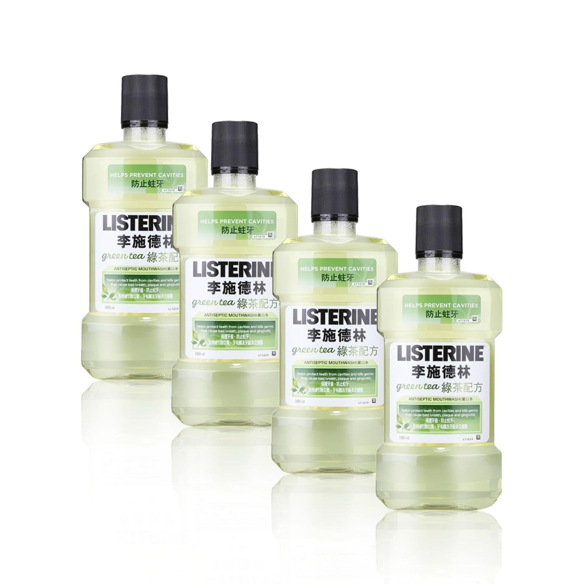 Best Reviews Of Listerine Mouthwash Green Tea 1000Mlx4