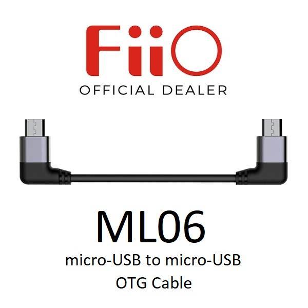 FiiO ML06 Micro-USB to Micro-USB OTG Interconnect Cable