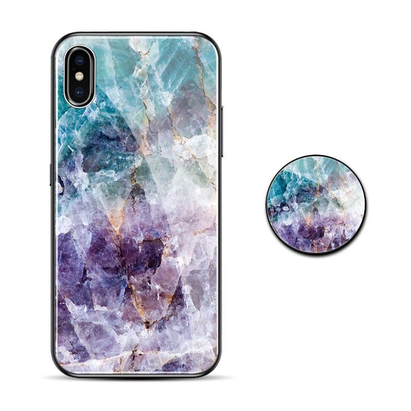 Xs Casing HP iphone shell minimalis Marmer Apple ID