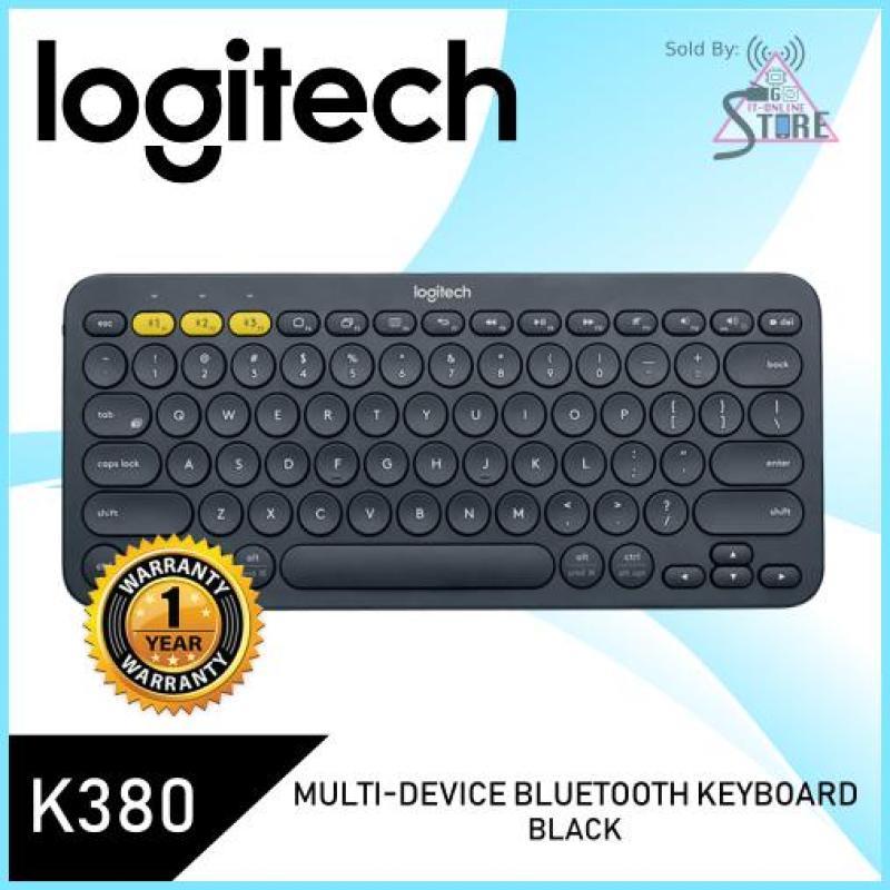 Logitech K380 Multi-Device Bluetooth Keyboard (Black) Singapore