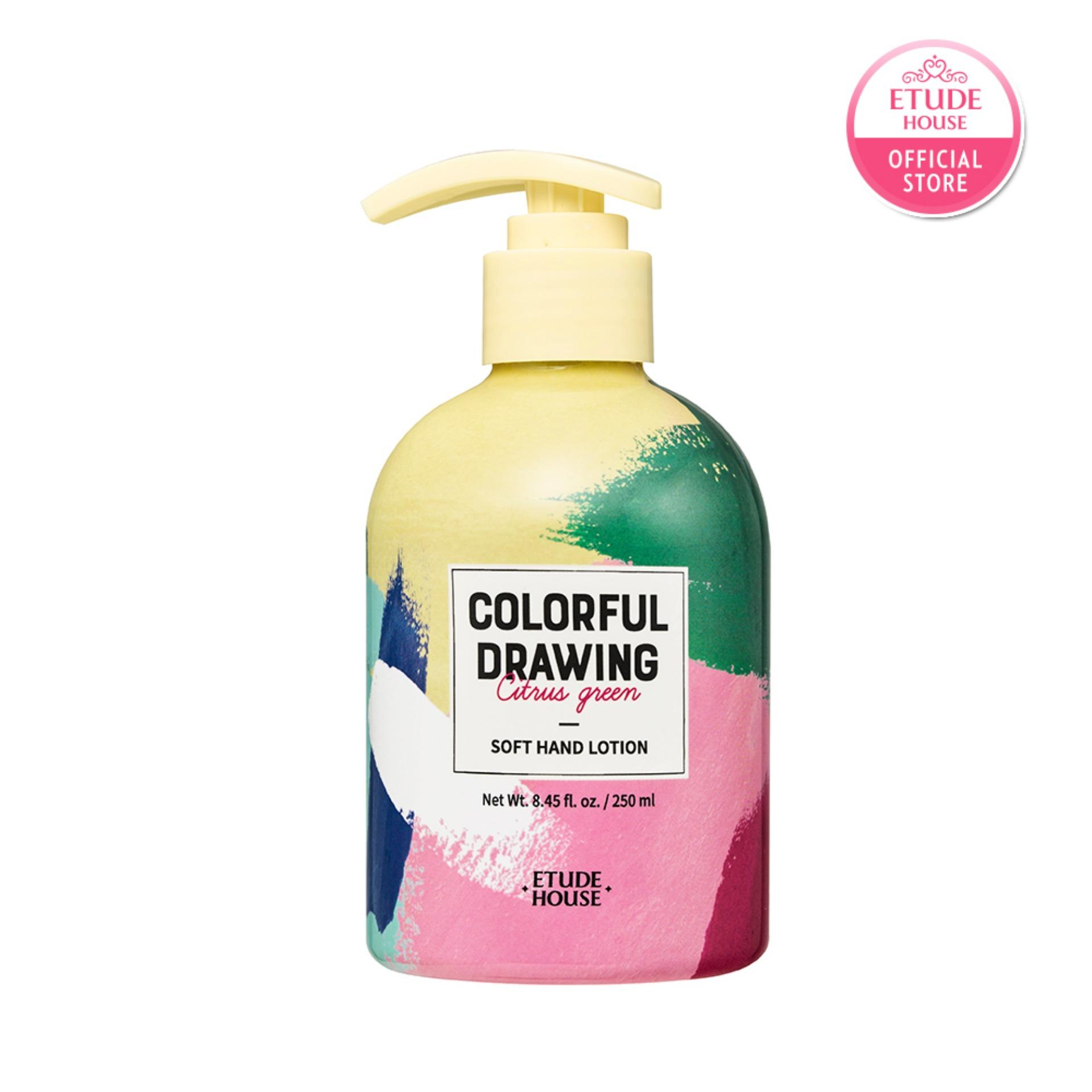 Best Rated Etude House Colorful Drawing Soft Hand Lotion