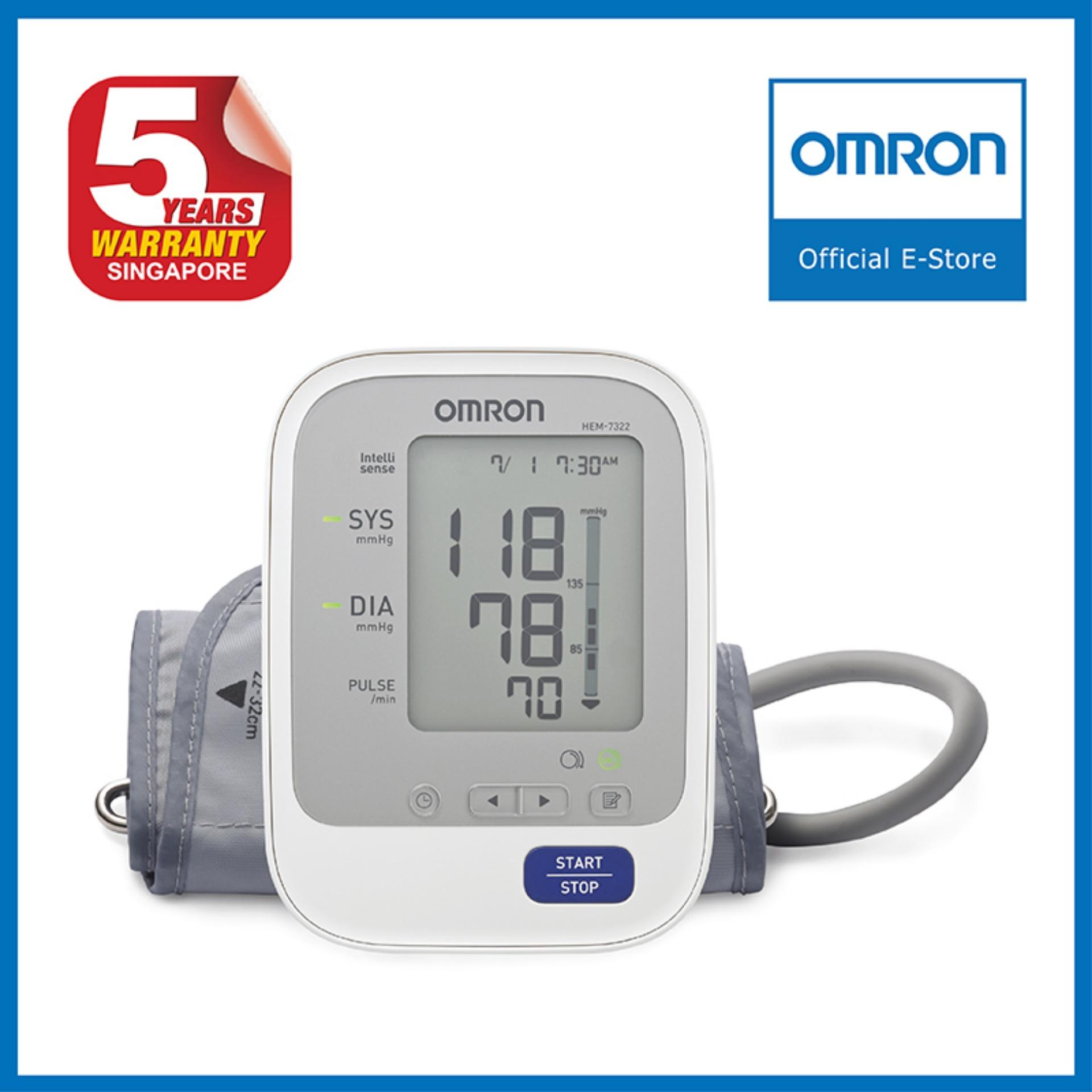 Omron Upper Arm Blood Pressure Monitor Hem 7322 Sale