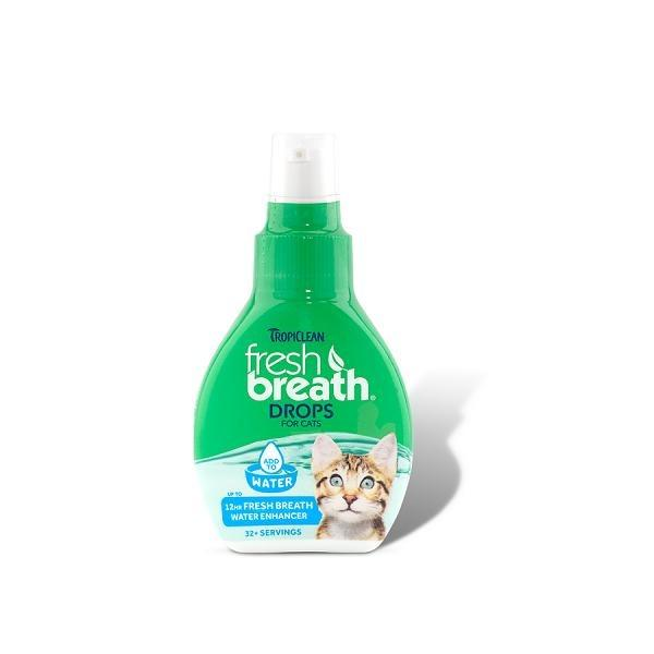 Tropiclean Fresh Breath Drops For Cats By Singpet.