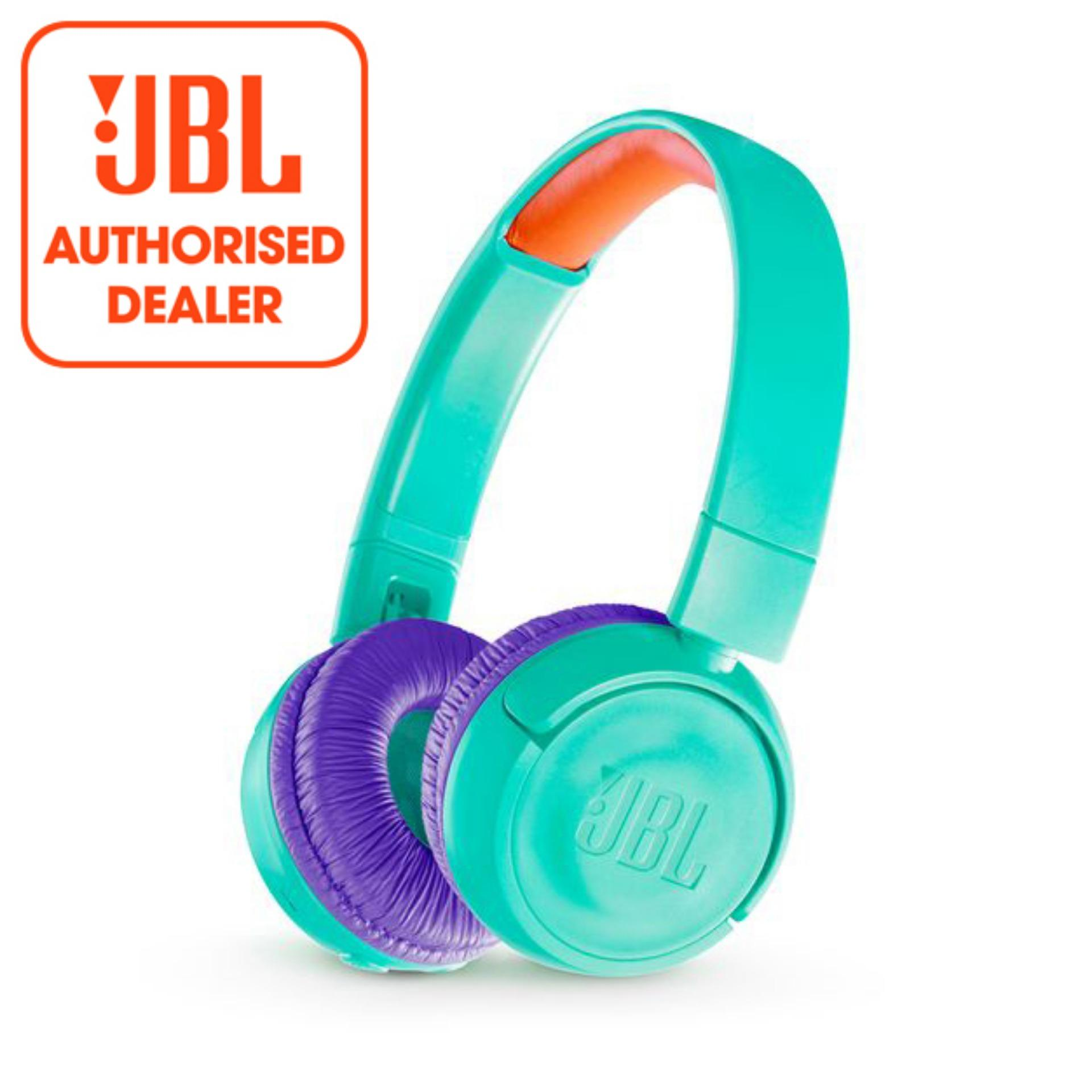 Who Sells Jbl Jr300Bt Green Kids Wireless On Ear Headphones With Safe Sound