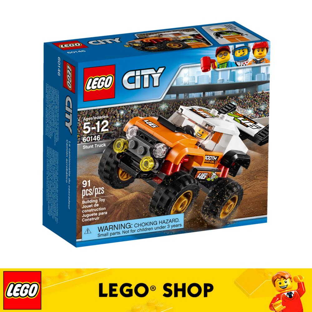 Compare Price Lego® Lego City Stunt Truck 60146 On Singapore