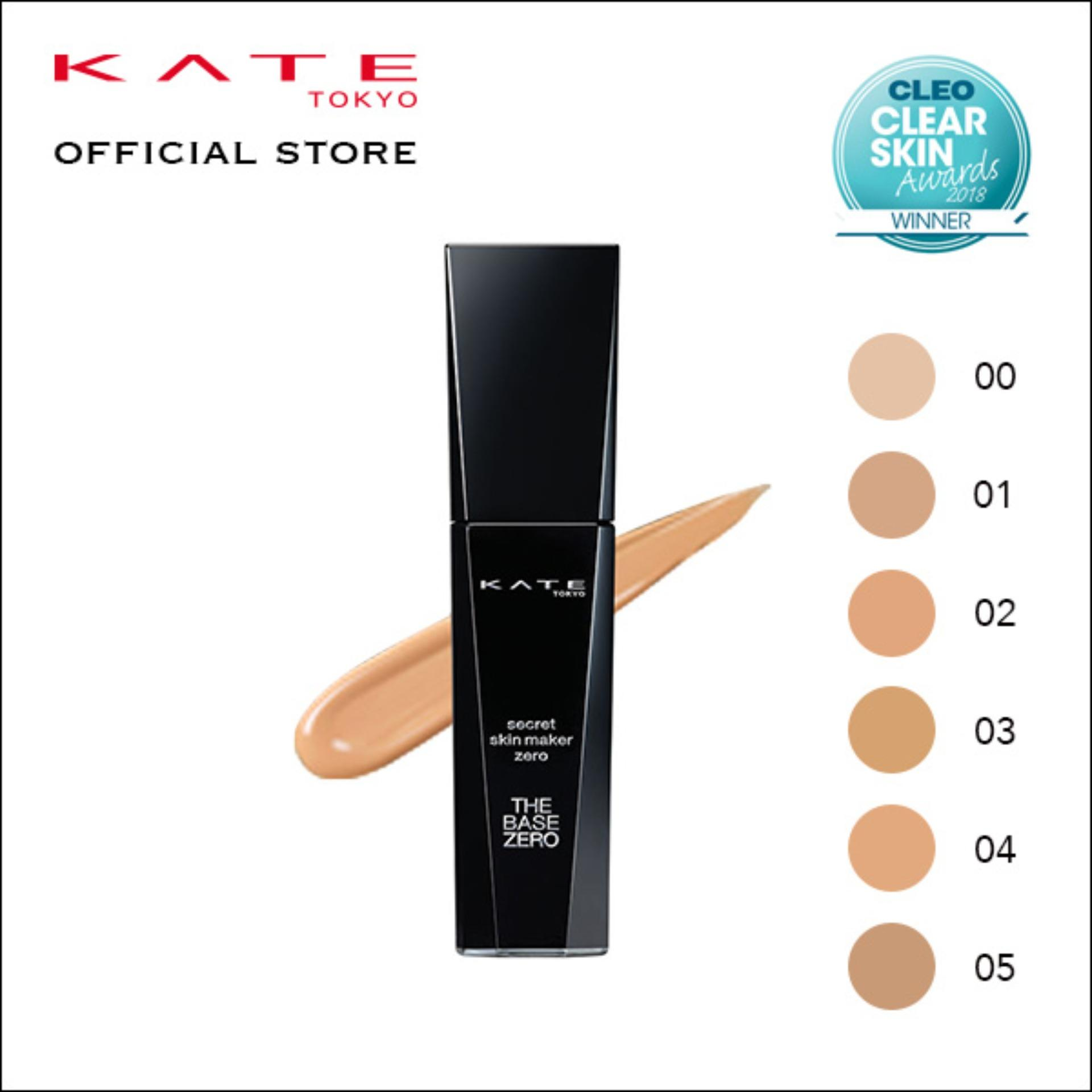 The Cheapest Kate Secret Skin Maker Zero Liquid Foundation 02 Online