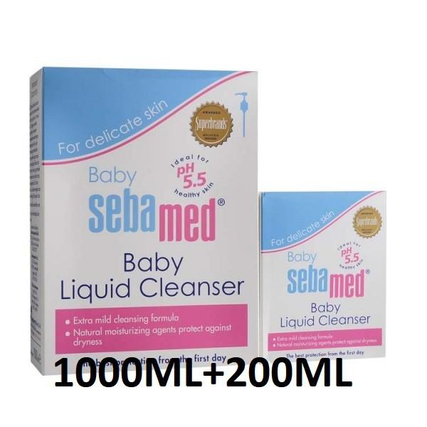 Sebamed Baby Bubble Bath 1000Ml 200Ml Soap Free Moisturizing Sensitive Skin Best Price