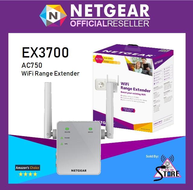 Price Netgear Ex3700 Ac750 Wifi Range Extender Netgear Original