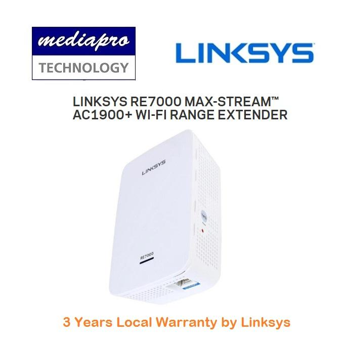 Best Reviews Of Linksys Re7000 Max Stream™ Ac1900 Wi Fi Range Extender With Gigabit Port