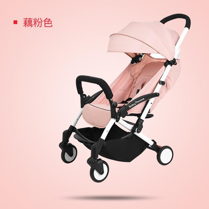 BABY THRONE new baby trolley stroller portable foldable baby car can sit on children bb car shock absorber 0 - 4 years old Singapore