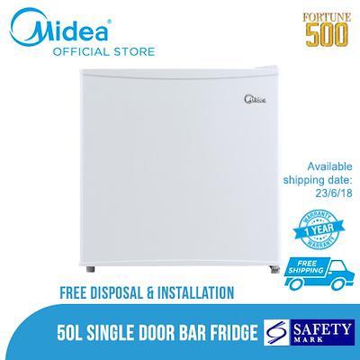 Discount Midea One Door Bar Fridge Ms 50 45L Mini Bar Mini Fridge Midea Singapore
