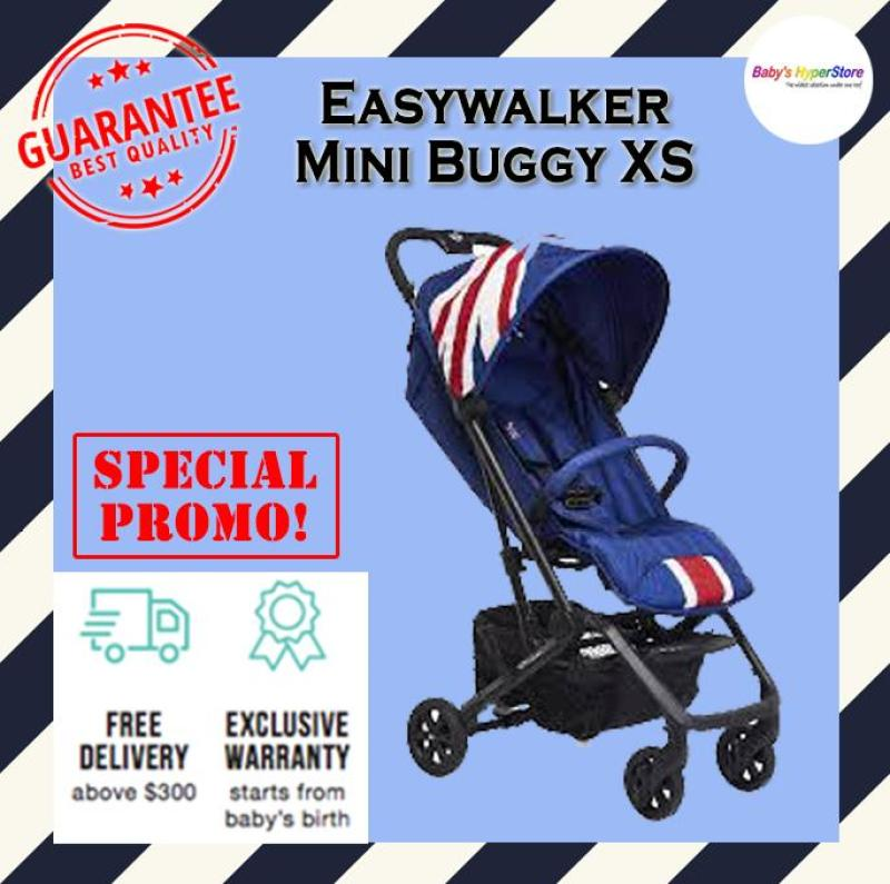 EASYWALKER MINI BUGGY XS STROLLER - Super compact & lightweight (cabin size) - Local seller warranty 2 YEAR Singapore