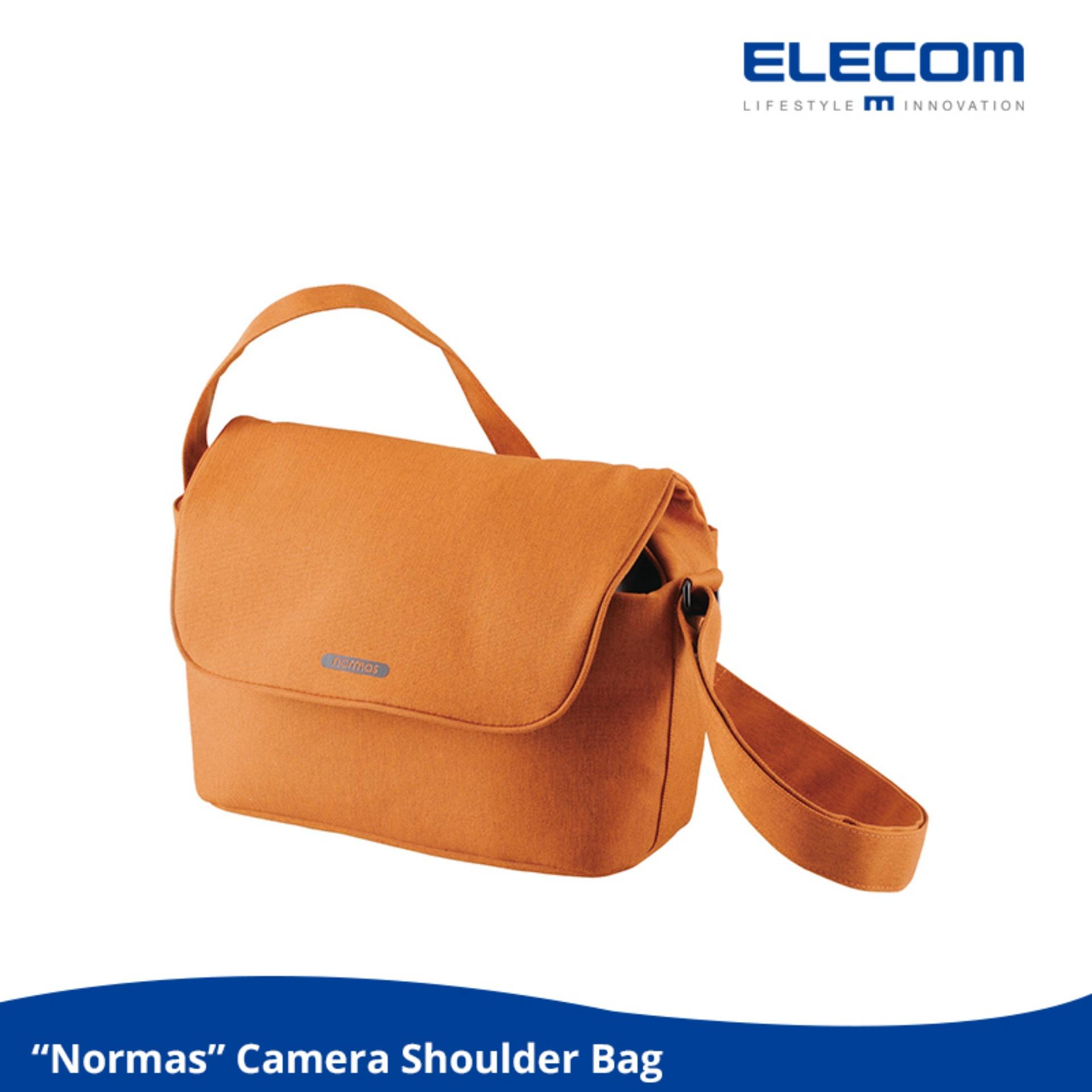 Buy Camera Cases Covers Bags Lazada Leather Denim Strap Kamera Mirrorless Dlsr Slr Canon Fujifilm Sony Elecom Normas S031 Shoulder Bag For Single Lens Reflex