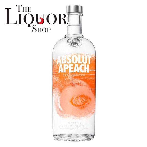 Who Sells The Cheapest Absolut Apeach 1L Online