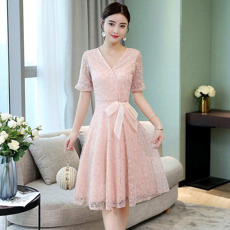 Compare Price Debutante Summer New Style Elegant Mid Length Dress Other On China
