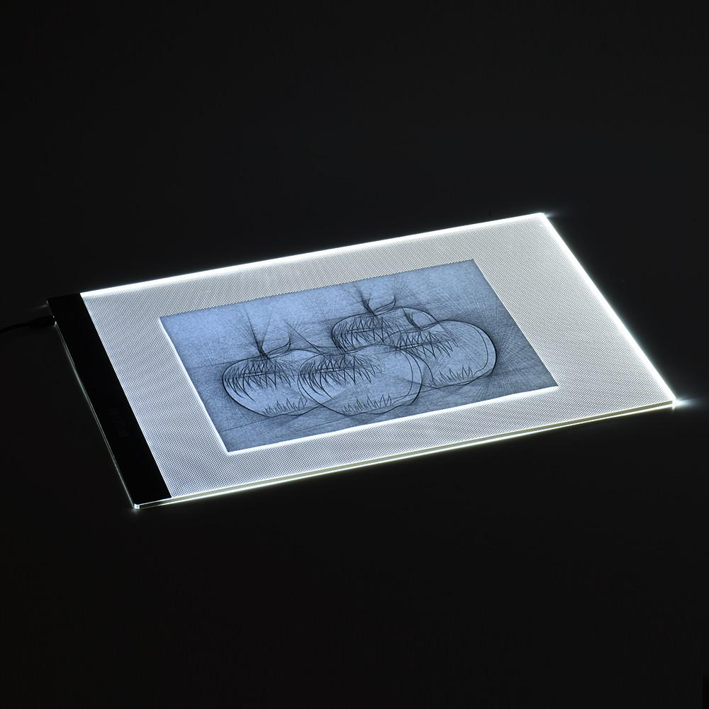 Sale Portable A3 Led Light Box Drawing Tracing Tracer Copy Board Table Pad Panel Copyboard With Memory Function Stepless Brightness Control For Artist Animation Tattoo Sketching Architecture Calligraphy Stenciling Diamond Painting On Hong Kong Sar China