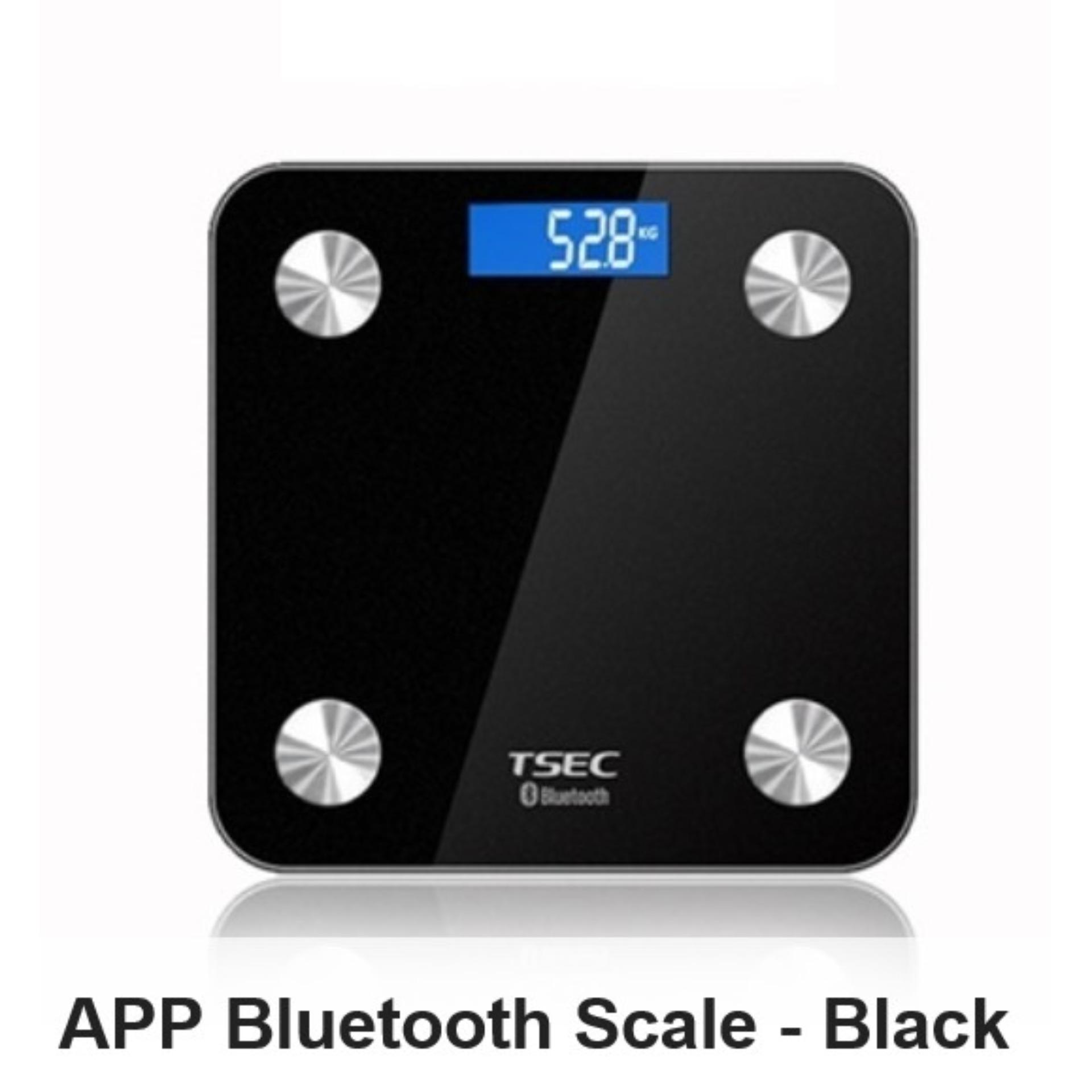Cheapest App Bluetooth Weighing Scale Black