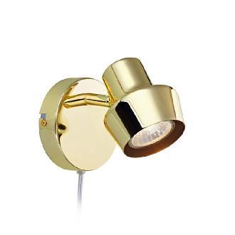 MARKSLOJD 106315 URN BRASS WALL LAMP - DELIGHT
