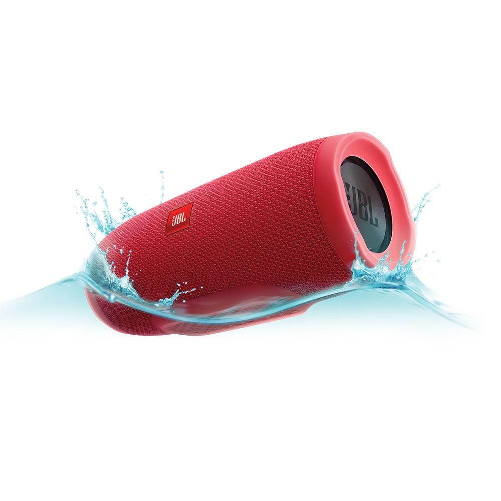 Jbl Charge 3 Portable Bluetooth Speaker Black Red Blue On Singapore