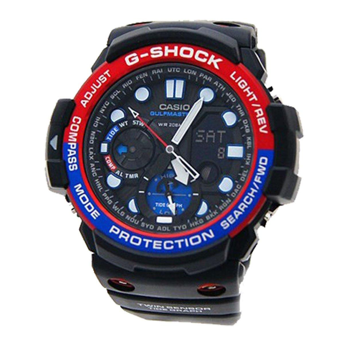 Buy Casio Casio G Shock Gulfmaster Black Resin Case Resin Strap Mens Gn 1000 1A