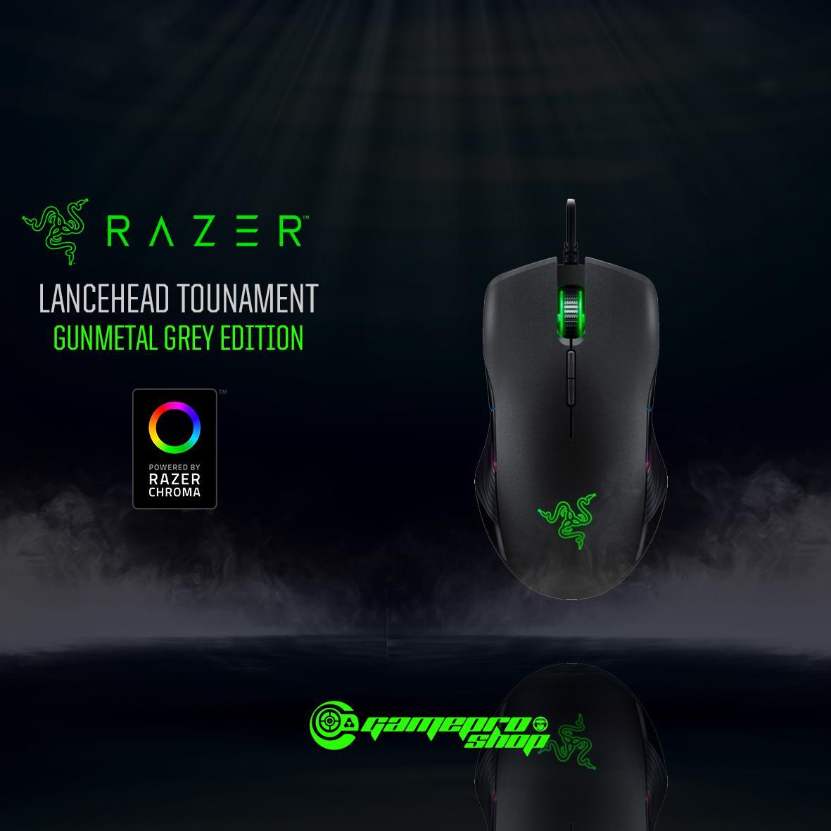 Get Cheap Razer Lancehead Tournament Edition Mercury White Gunmetal Grey Quartz Edition Ambidextrous Gaming Mouse Gss Promo