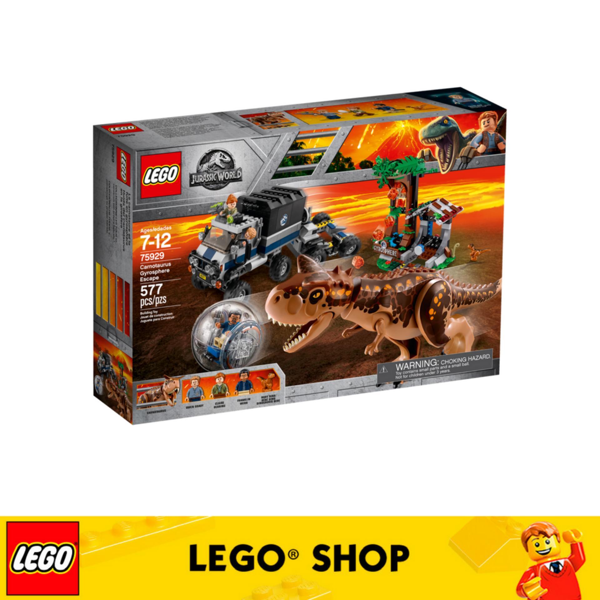 Lego® Jurassic World Carnotaurus Gyrosphere Escape 75929 Lower Price