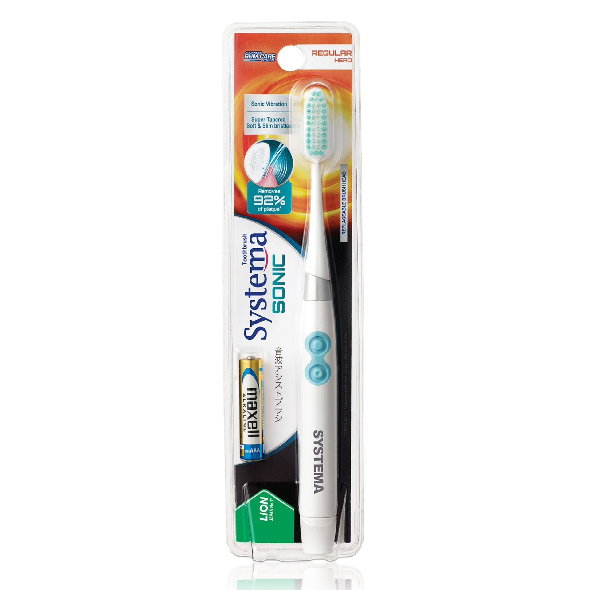 Price Systema Sonic Toothbrush Regular Head Systema New