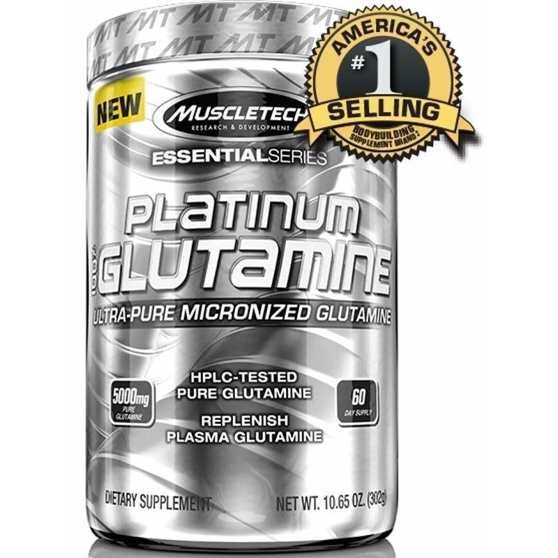 Price Comparison For Muscletech Platinum 100 Glutamine 302G