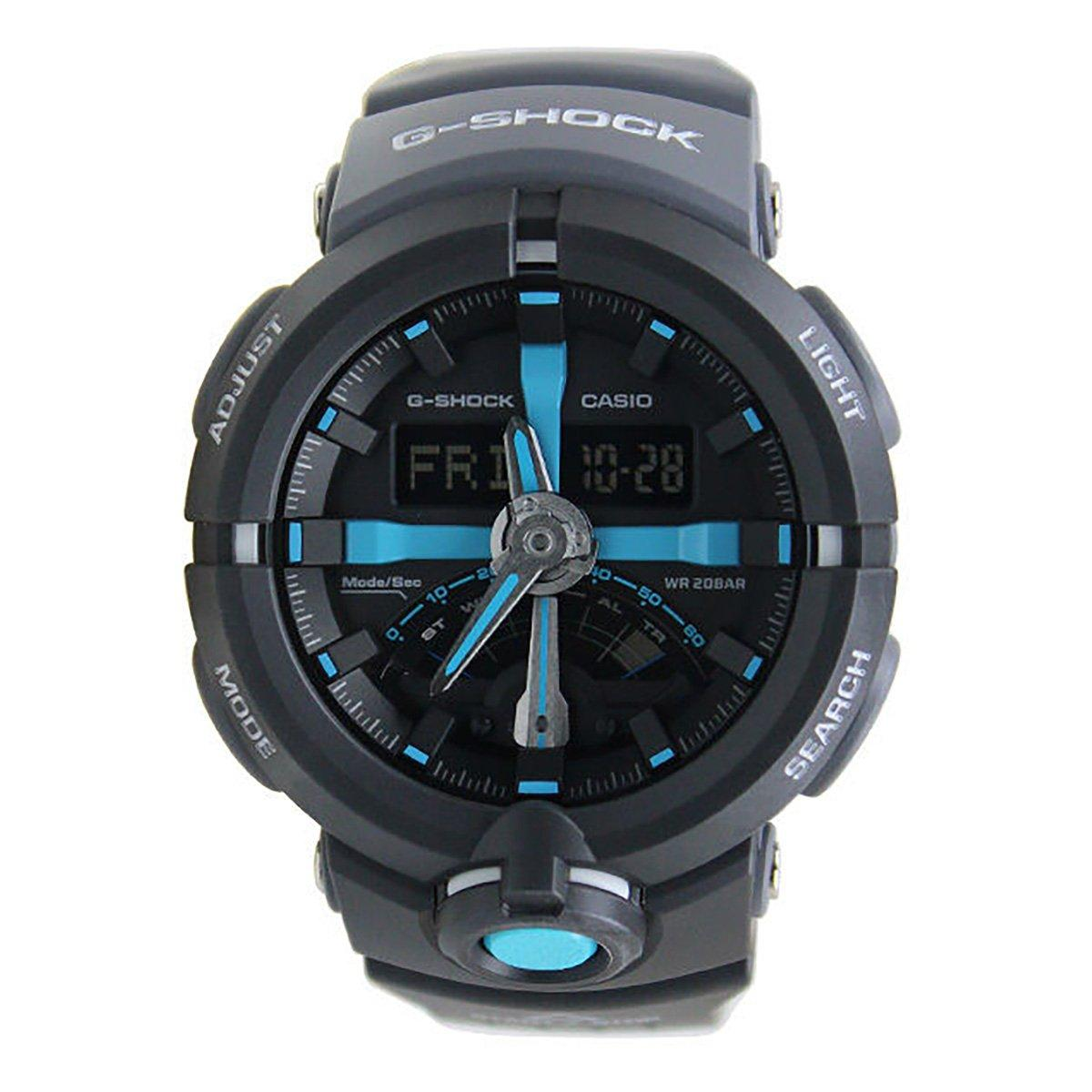 Casio Casio G Shock Black Resin Case Resin Strap Mens Ga 500P 1A Reviews