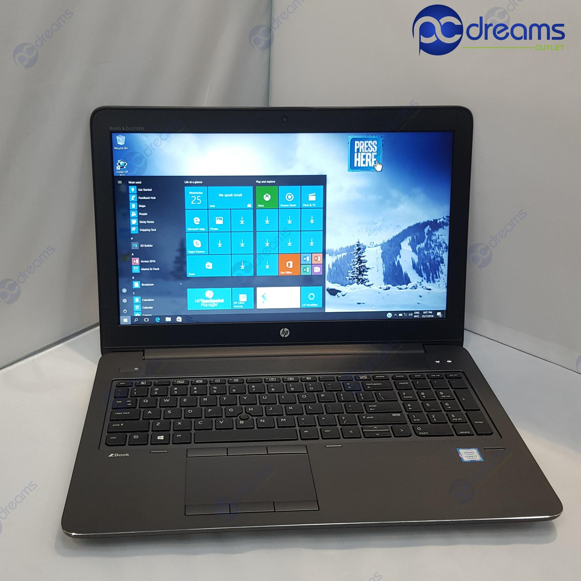 NATIONAL DAY PROMOTION! HP ZBOOK 15 G3 (M9R63AV) i7-6820HQ/8GB/1TB HDD [Premium Refreshed]