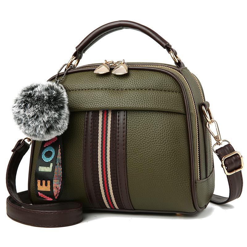 Top 10 Square Sling Bag Contrasting Color Shoulder Bag Bags
