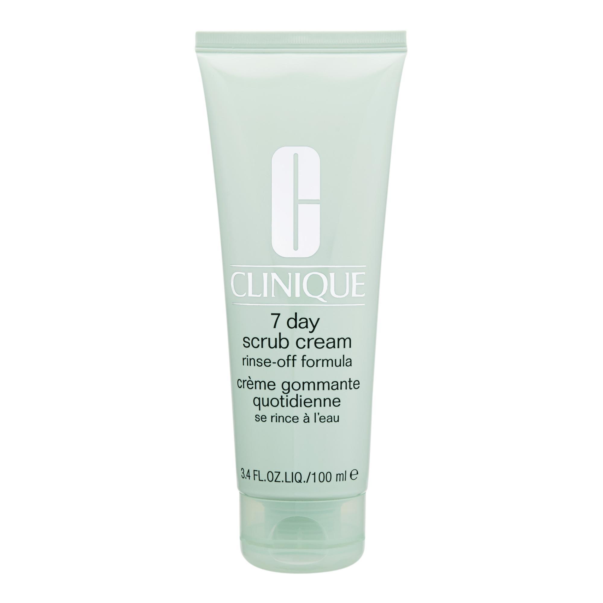Buy Clinique 7 Day Scrub Cream Rinse Off Formula 100Ml 3 4Oz Intl