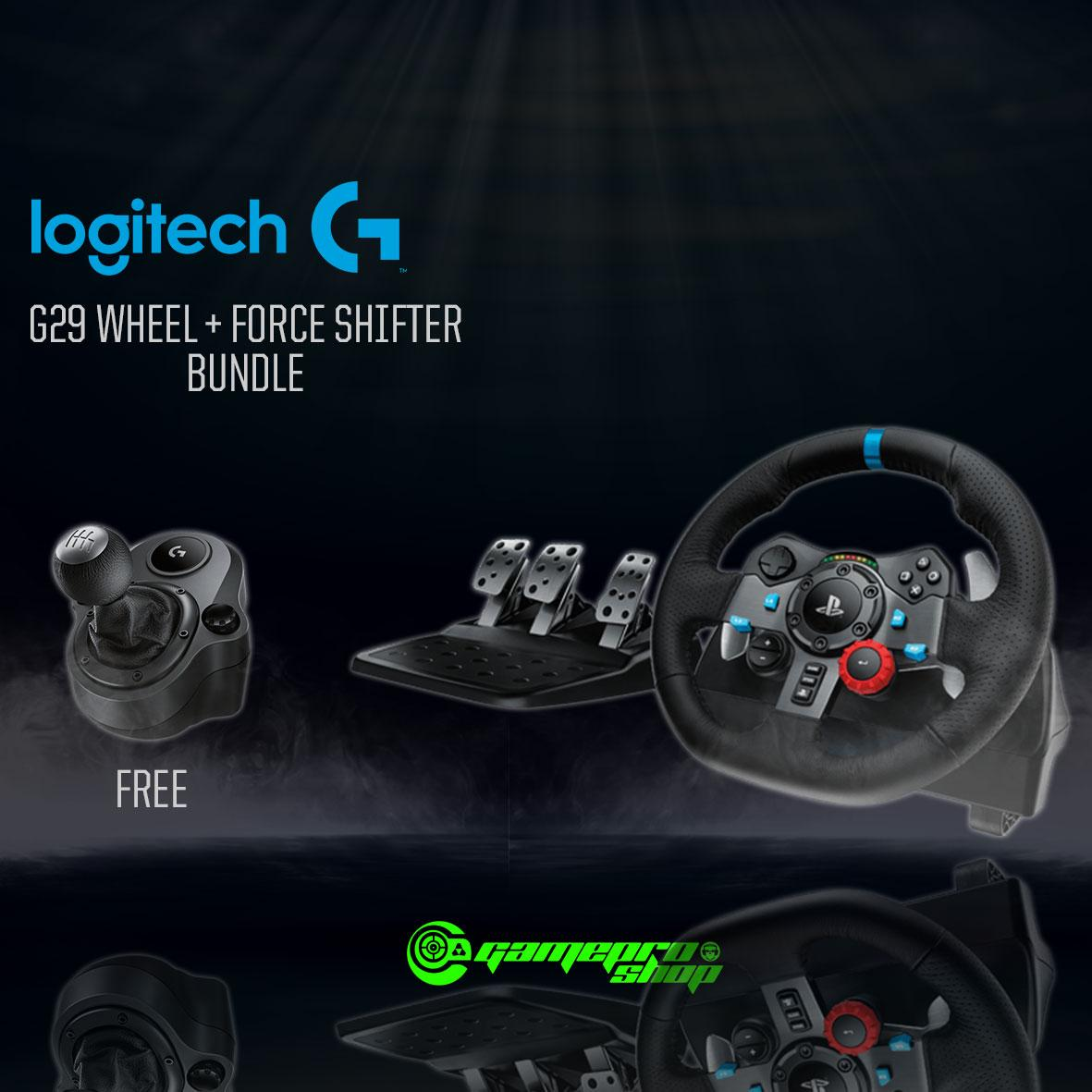 Sale Logitech G29 Driving Force Racing Wheel With Force Shifter Gss Promo Singapore Cheap