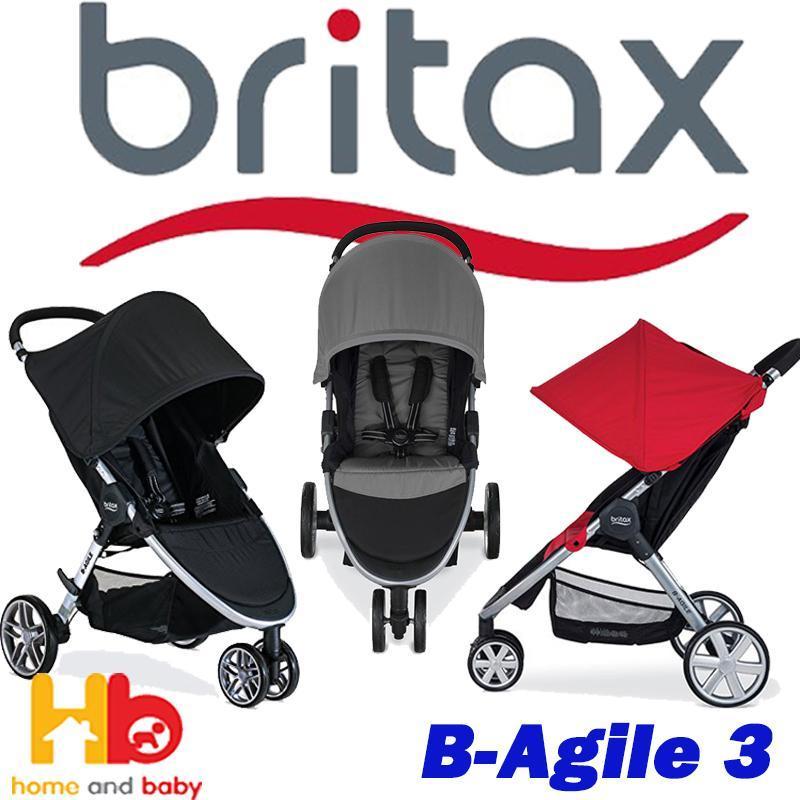 BRITAX B-AGILE 3 Stroller 3 color available Singapore
