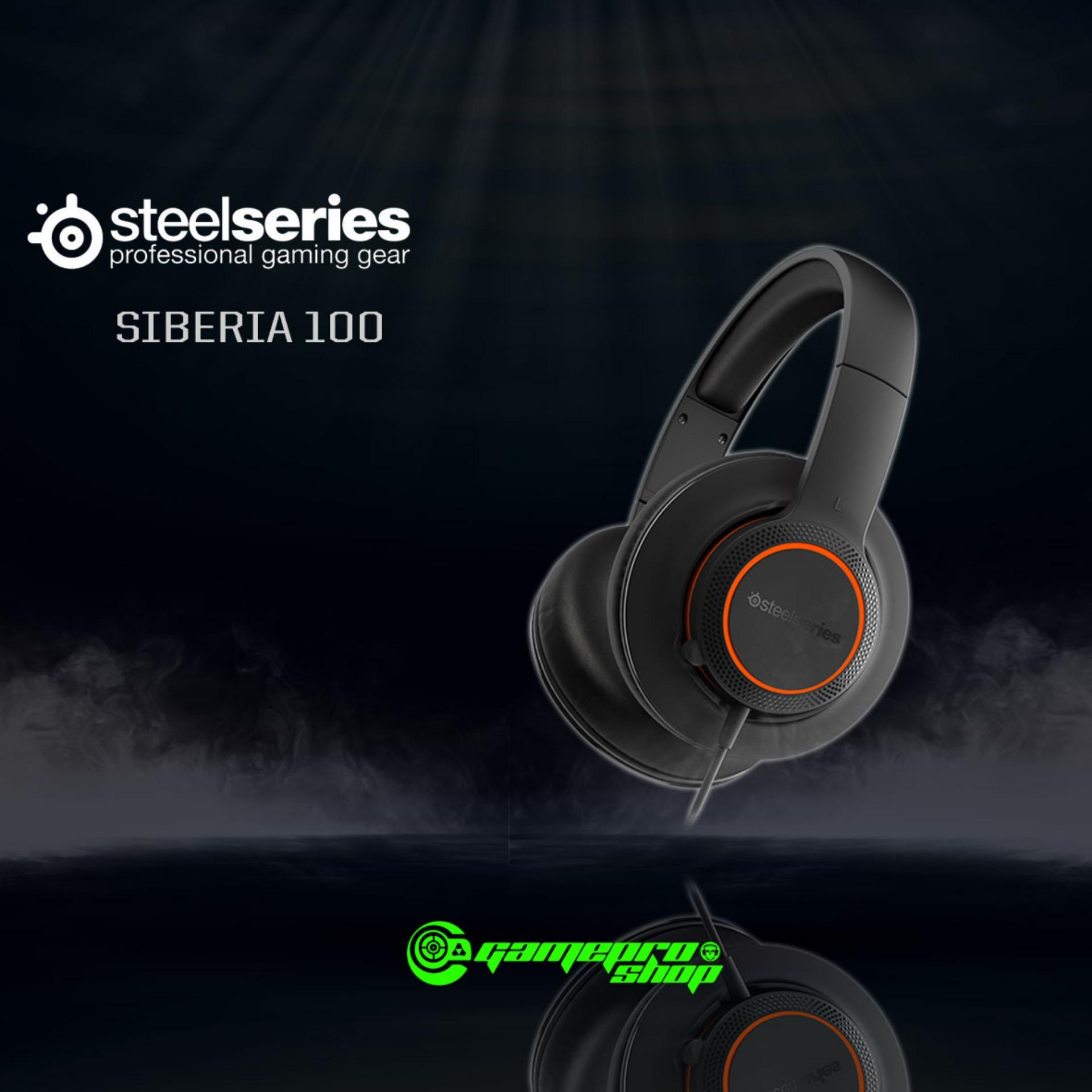 Top Rated Steelseries Siberia 100 Headset Gss Promo