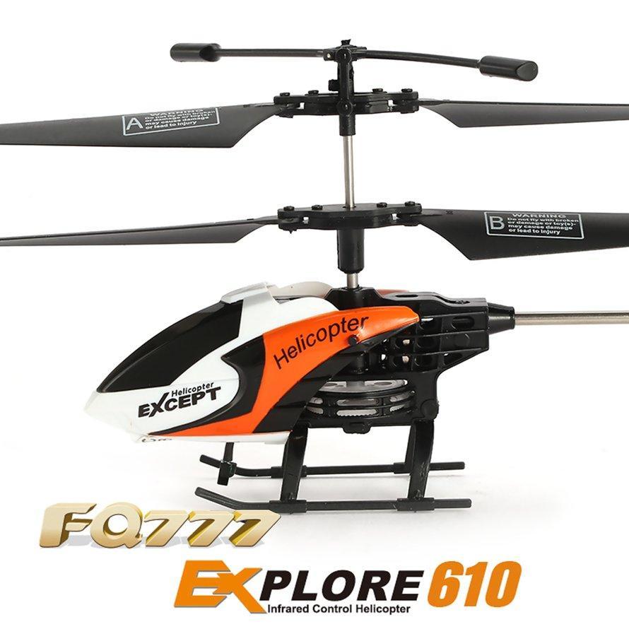 OSMAN FQ777 610 3CH Helikopter Mini RC Infra Merah Drone Pesawat 6-Axis Hadiah Mainan